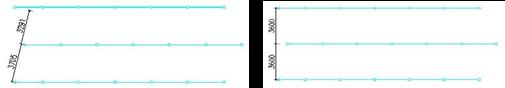 给排水CAD图纸之喷淋检查和手动尺寸