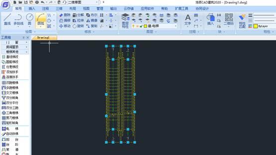 CAD软件中怎么编辑修改电梯?