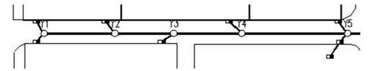 CAD中连接雨水口的操作步骤