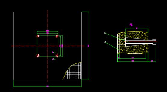 建筑CAD结构设计基础图纸