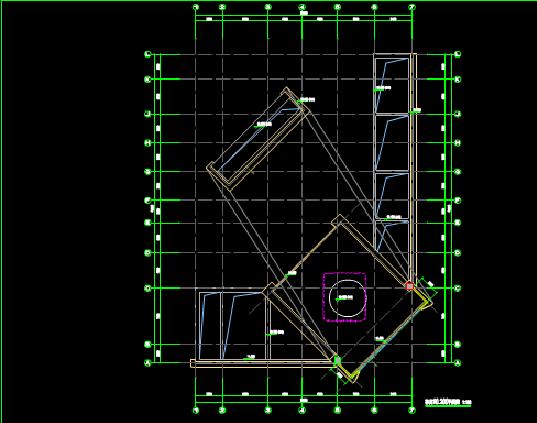 高校理工楼建筑设计CAD图纸