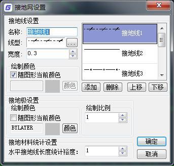 CAD设置接地网的操作技巧