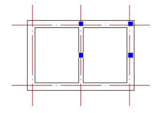 怎么在CAD中插入构造柱?CAD构造柱绘制技巧(下)