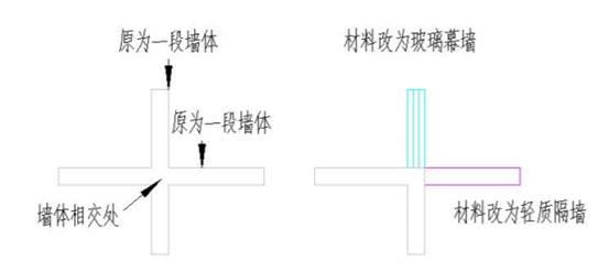 CAD中怎么在交点处打断墙体?CAD墙体分段教程