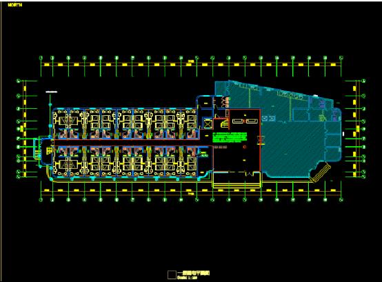 机场宾馆弱电CAD图纸