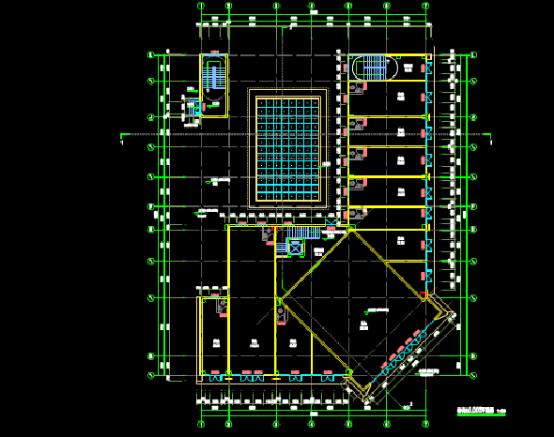 理工10#楼建筑设计CAD图纸