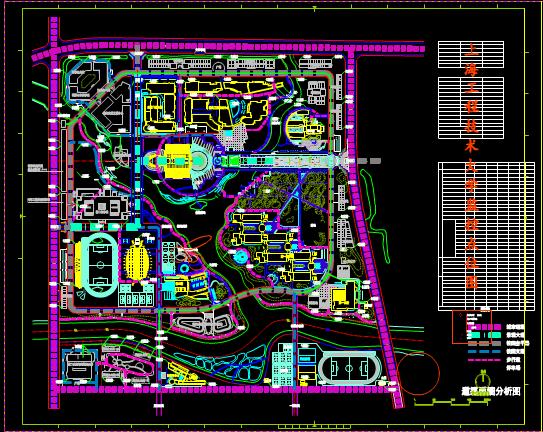 城市道路监控设计CAD图纸