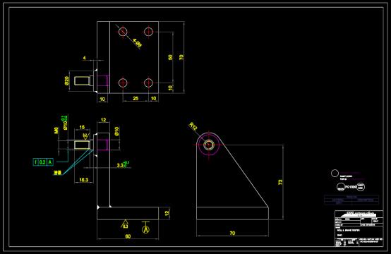机械零部件CAD图纸