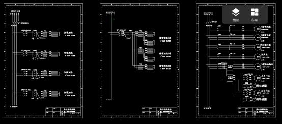 电子电工电路设计CAD图纸