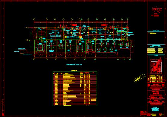 房屋电力CAD设计图纸