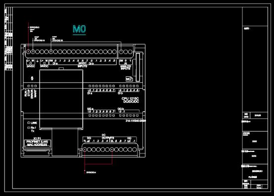PLC制造CAD图纸