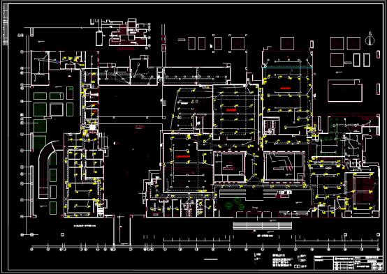 博物馆电力设计CAD图纸