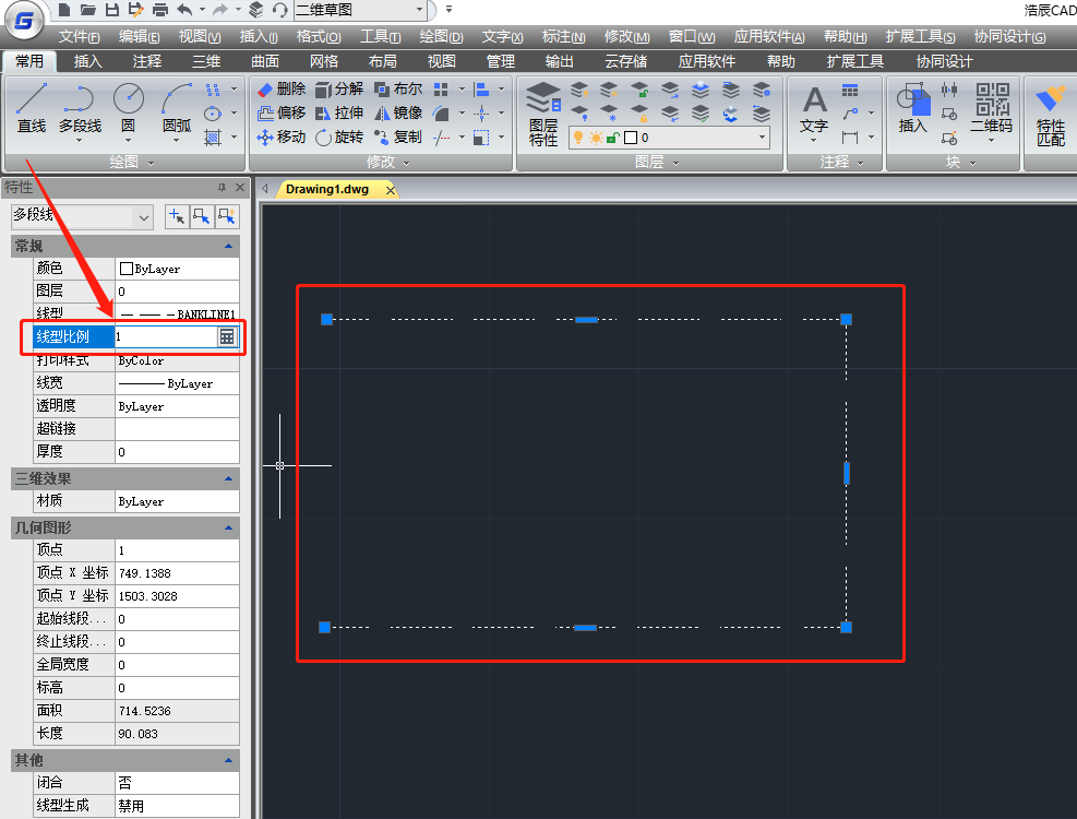 CAD虚线显示为实线怎么办?