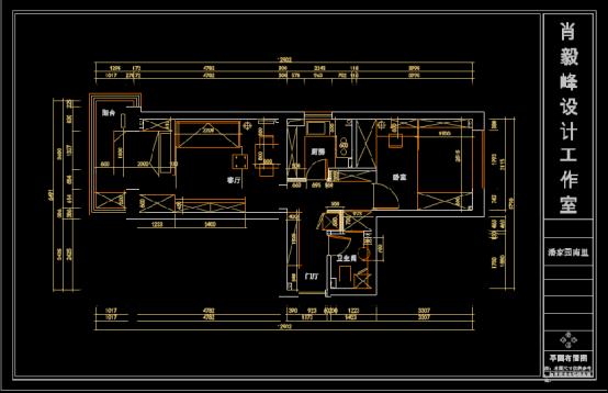 某地小区CAD家装施工图