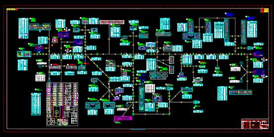 电子电工仪表线束CAD图纸