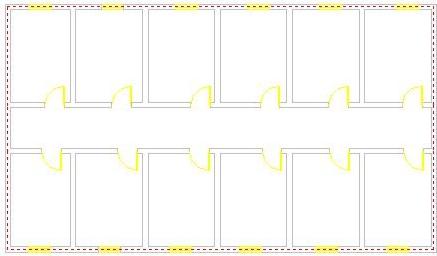 在CAD中进行负荷计算时怎么识别内外墙体?