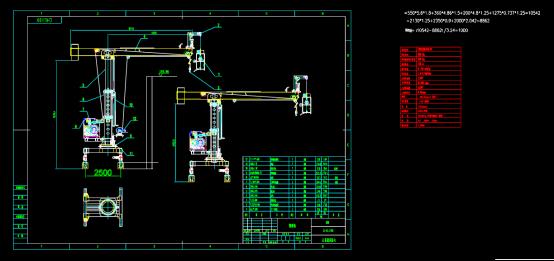 擦窗机设计CAD图纸