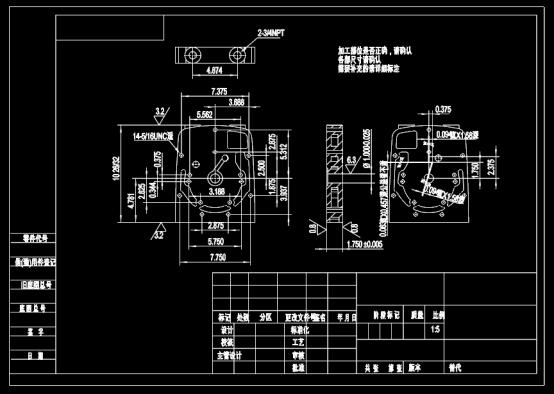 机械加工设备设计CAD图纸