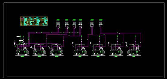 加油站工艺CAD图纸