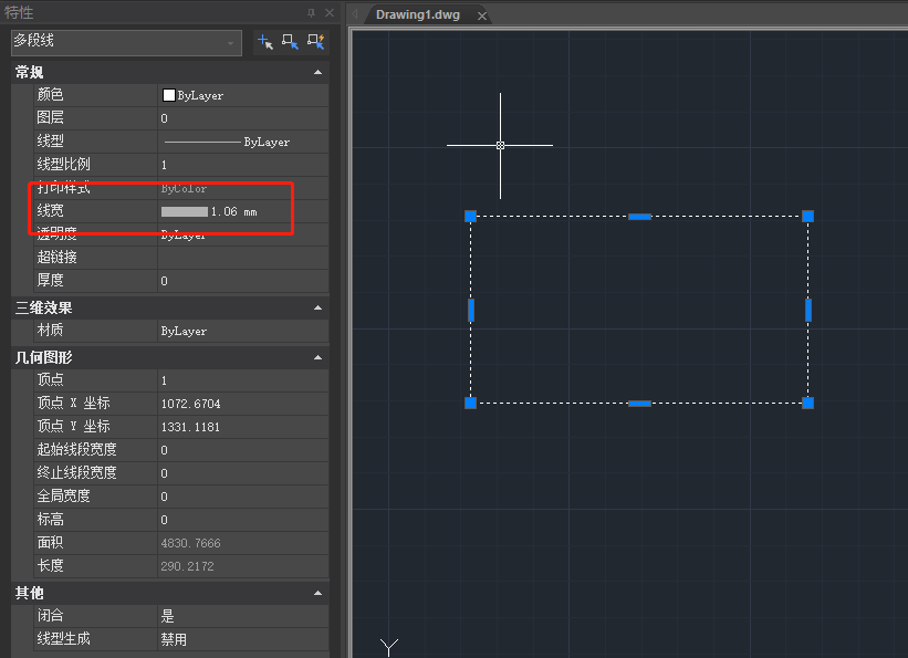 CAD线宽改了还是一样宽怎么办?CAD线宽设置