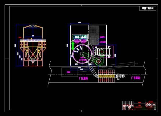 车间布局设计方案CAD图纸