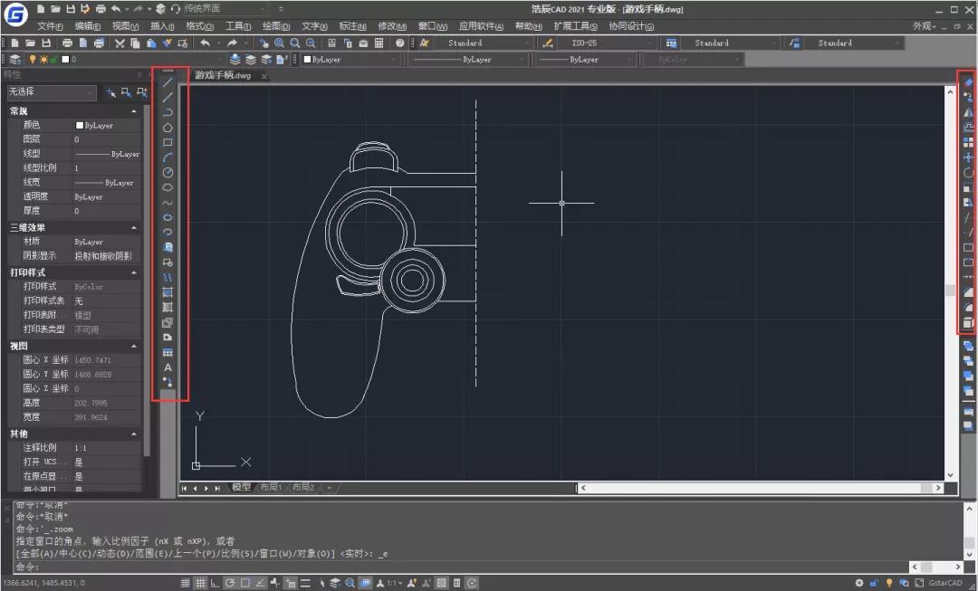 童趣无限,浩辰CAD趣味绘图等你来发现!