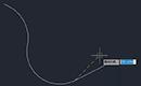 CAD软件中如何快速输入最后点或上一点坐标?