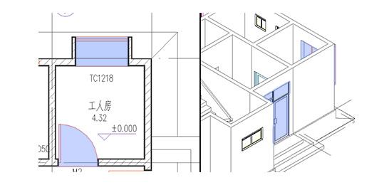 浩辰CAD建筑_窗和门