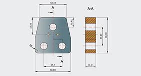 浩辰CAD机械_剖切线