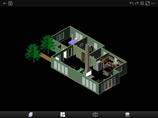 CAD看图手机版如何查看3D图纸模型