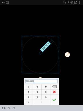 手机CAD看图软件基础教程之编辑功能