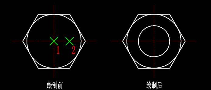 CAD绘制圆的方法