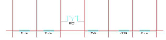 CAD尺寸标注:内门标注的使用教程(一)
