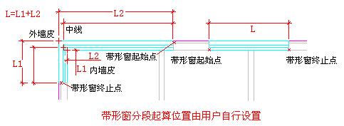 CAD绘图:带形窗的绘制(二)