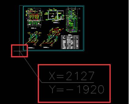 手机CAD看图软件基础操作之标坐标