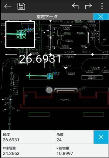 手机CAD看图软件基础操作测量不准处理办法