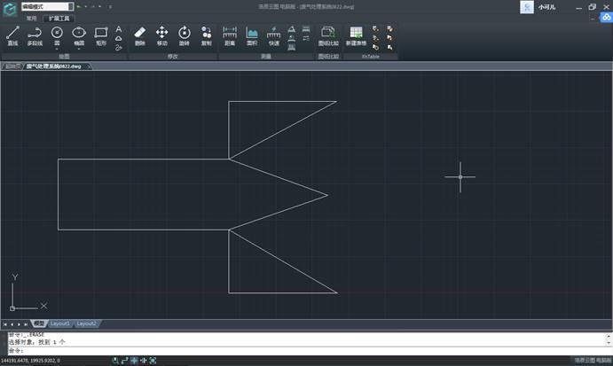 CAD快速看图纸教程之连续测量功能