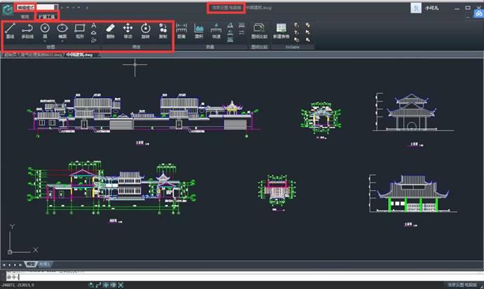 CAD图纸操作教程之添加文字