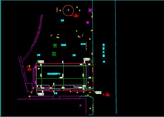 珠宝名品购物中心CAD图纸
