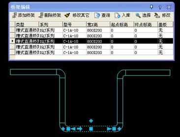 CAD中编辑桥架的操作技巧