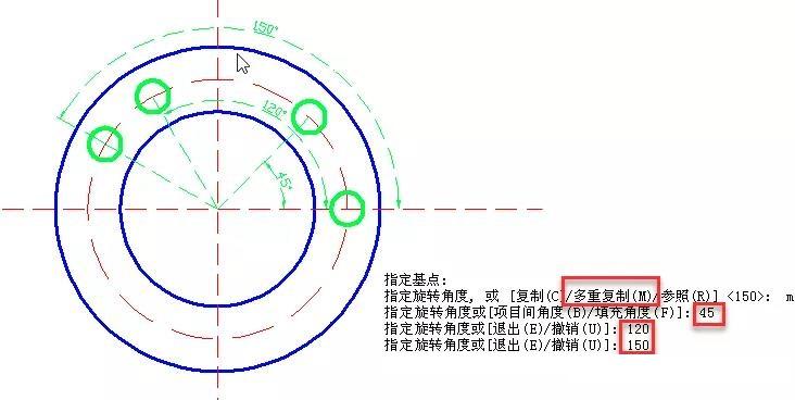 CAD怎么旋转图形?CAD旋转命令应用