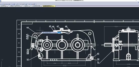 如何在浩辰CAD中设置比例因子