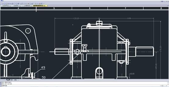 浩辰CAD比例缩放和对齐图形的使用