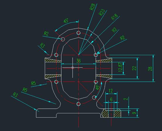 CAD样条曲线闭合的绘制步骤
