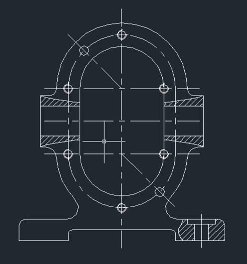 如何使两个CAD重叠图形同比例