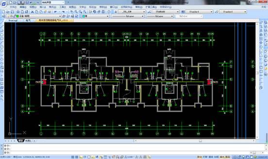 CAD在绘制电气图纸中常用的符号
