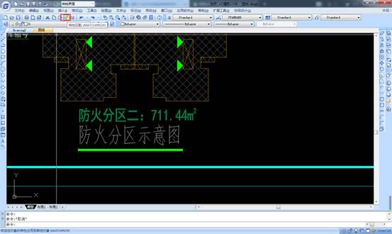CAD中如何使用格式刷