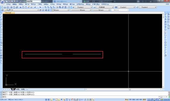 CAD中如何将两线段连接为一条