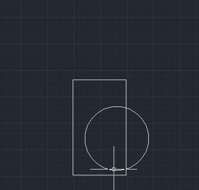 CAD绘制矩形倒角
