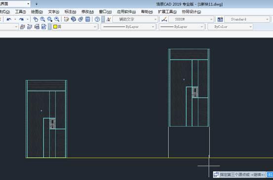 CAD对齐图块如何操作对齐?